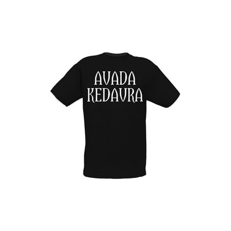 Harry Potter Avada Kedavra Spell Adult T-Shirt, approx $18