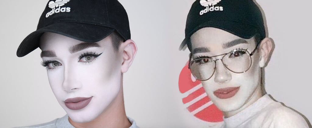 James Charles Responds to People Trolling His Makeup Fail