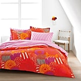 Duvet Cover Set in Orange ($140)