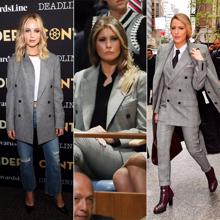 This Fall Blazer Is So Versatile, Everyone From Melania Trump to Jennifer Lawrence Owns It
