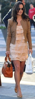 Pippa Middleton in Peace French Connection Dress