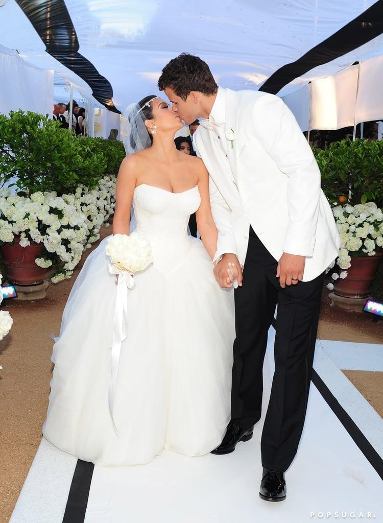 Kim Kardashian's Black-and-White Ball