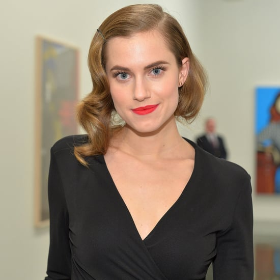 Allison Williams Faux-Bob Hairstyle 2014