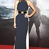 Sleek and sexy in Stella McCartney for the film's Japan premiere.