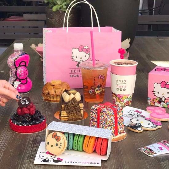 Food at Hello Kitty Mini Cafe in Arcadia, CA