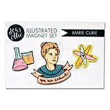 Marie Curie Magnet Set
