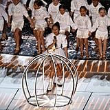 See Pictures of Jennifer Lopez's Daughter Emme Singing at the 2020 Super Bowl