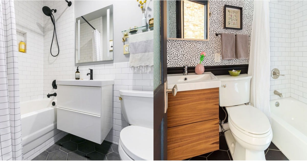 These Gorgeous Bathroom Photos All Have 1 Thing in Common: Ikea