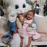 Baby Luna Spends an Adorable Afternoon With the Easter Bunny