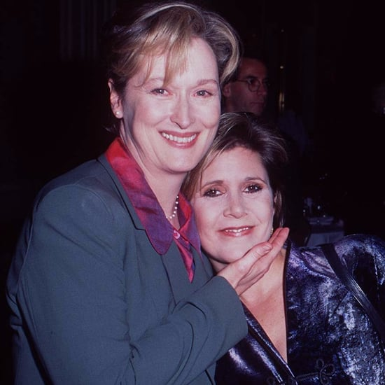 Meryl Streep's Tribute to Carrie Fisher 2017 Golden Globes