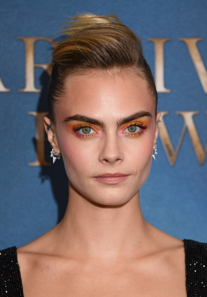 Cara Delevingne's Watercolour Shadow