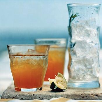 Tarragon-Spiked Lady Grey Iced Tea