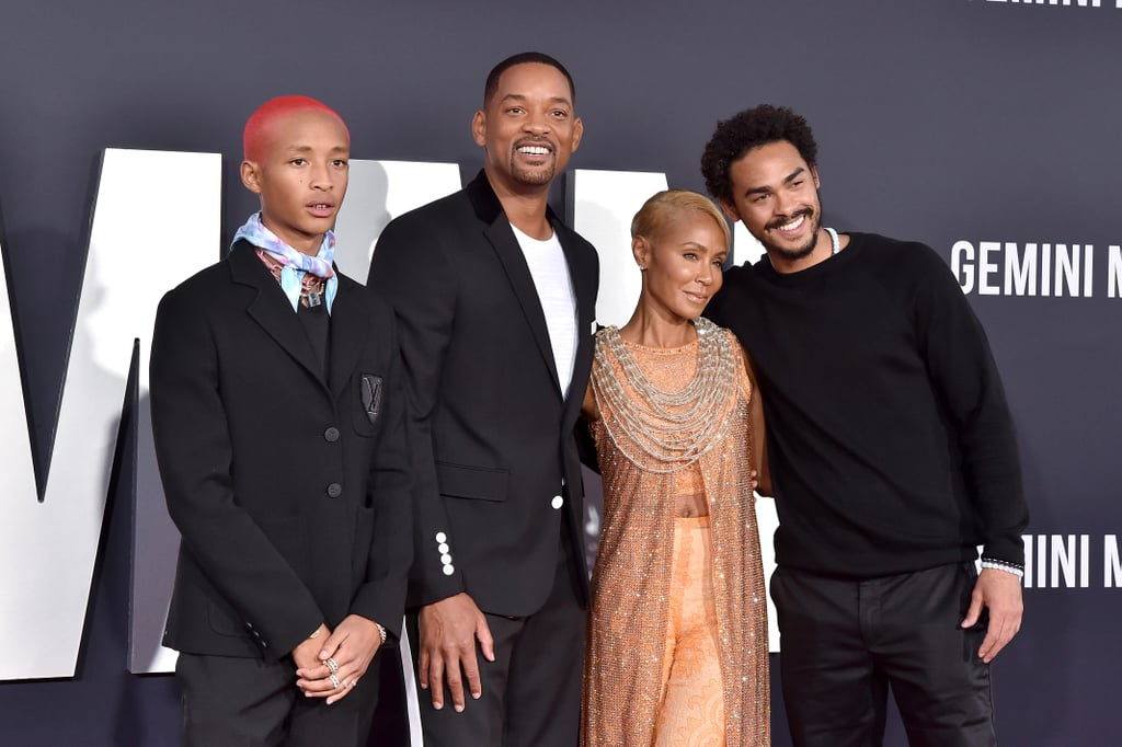 Will Smith and His Family at the Gemini Man Premiere Photos