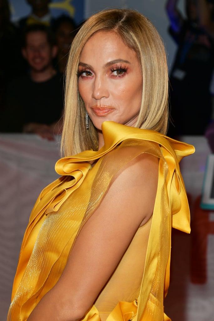 Jennifer Lopez's Blond Lob in November 2019