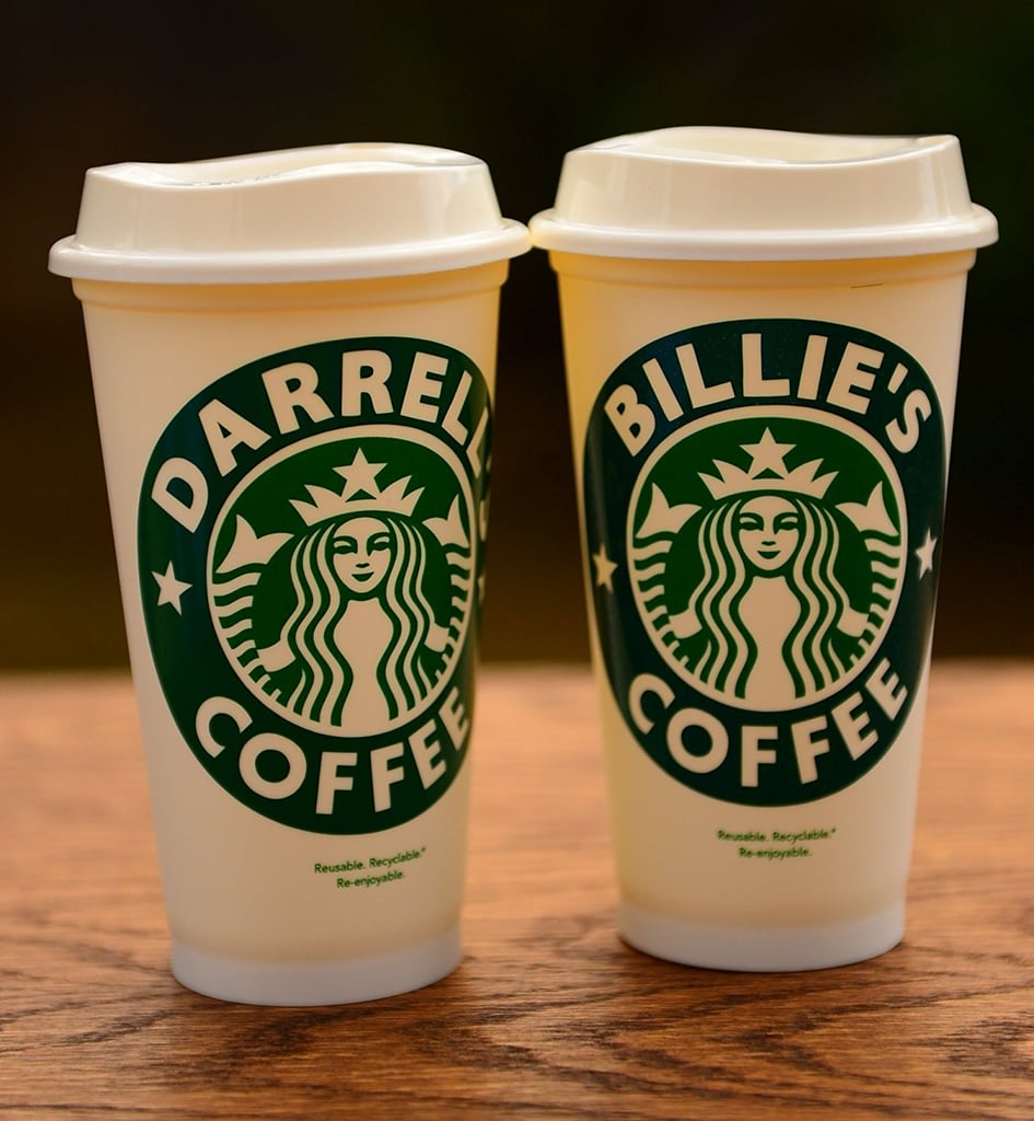 Personalized Name Starbucks Cup