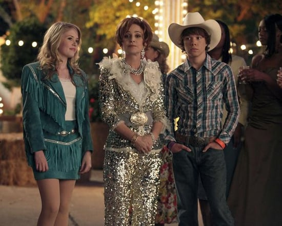 Lauran Irion, Annie Potts, and Colton Shires in GCB.