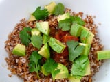 Mexican Raw Bulgur Bowl