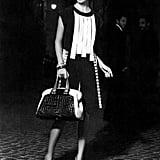 Arizona Muse rocks graphic black and white for Fendi. Source: Fashion Gone Rogue