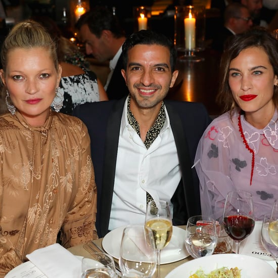 Kate Moss and Alexa Chung at the BoF 500 Gala Dinner