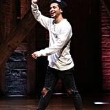 He Was in Broadway's Hamilton