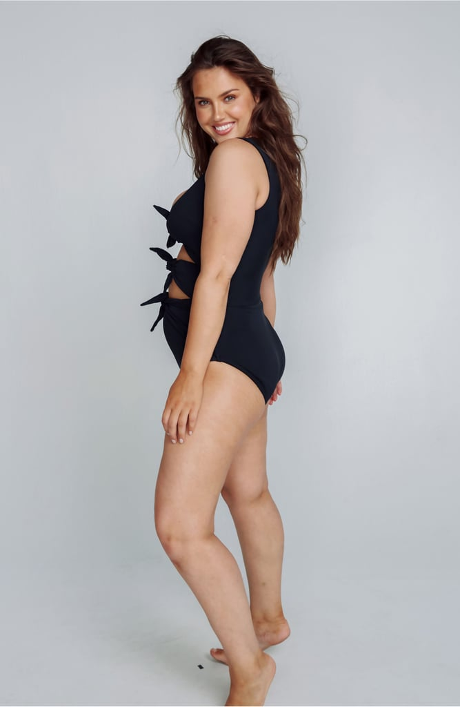 Alpine Butterfly Goddess One-Piece Swimsuit
