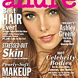 Ashley Greene covers the November issue of Allure magazine.