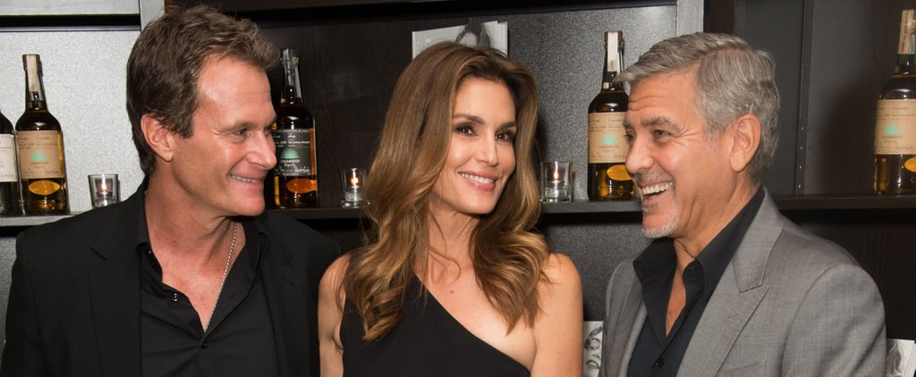 Cindy Crawford Talks About George Clooney Becoming a Dad