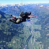Go Skydiving Over the Swiss Alps