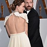 Olivia Wilde and Jason Sudeikis Showing Off Their Looks From Behind