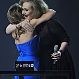 With Kylie Minogue.