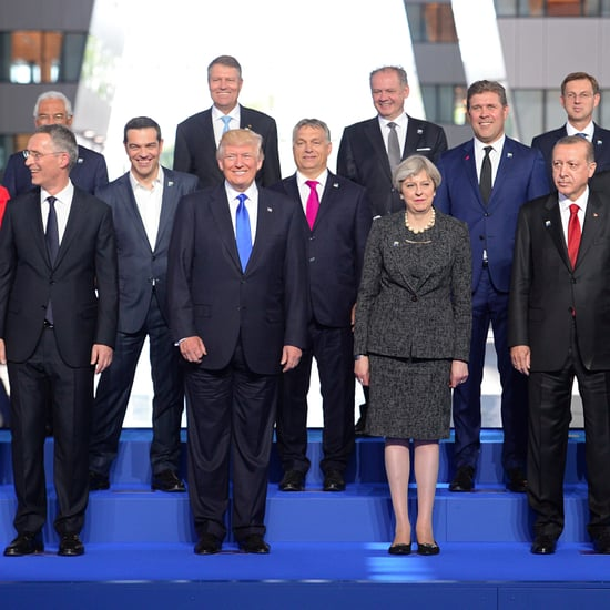Donald Trump Pushes Prime Minister NATO Summit