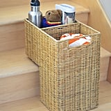Kouboo Wicker Step Basket ($50)