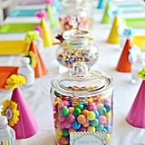 Rainbow Birthday Table
