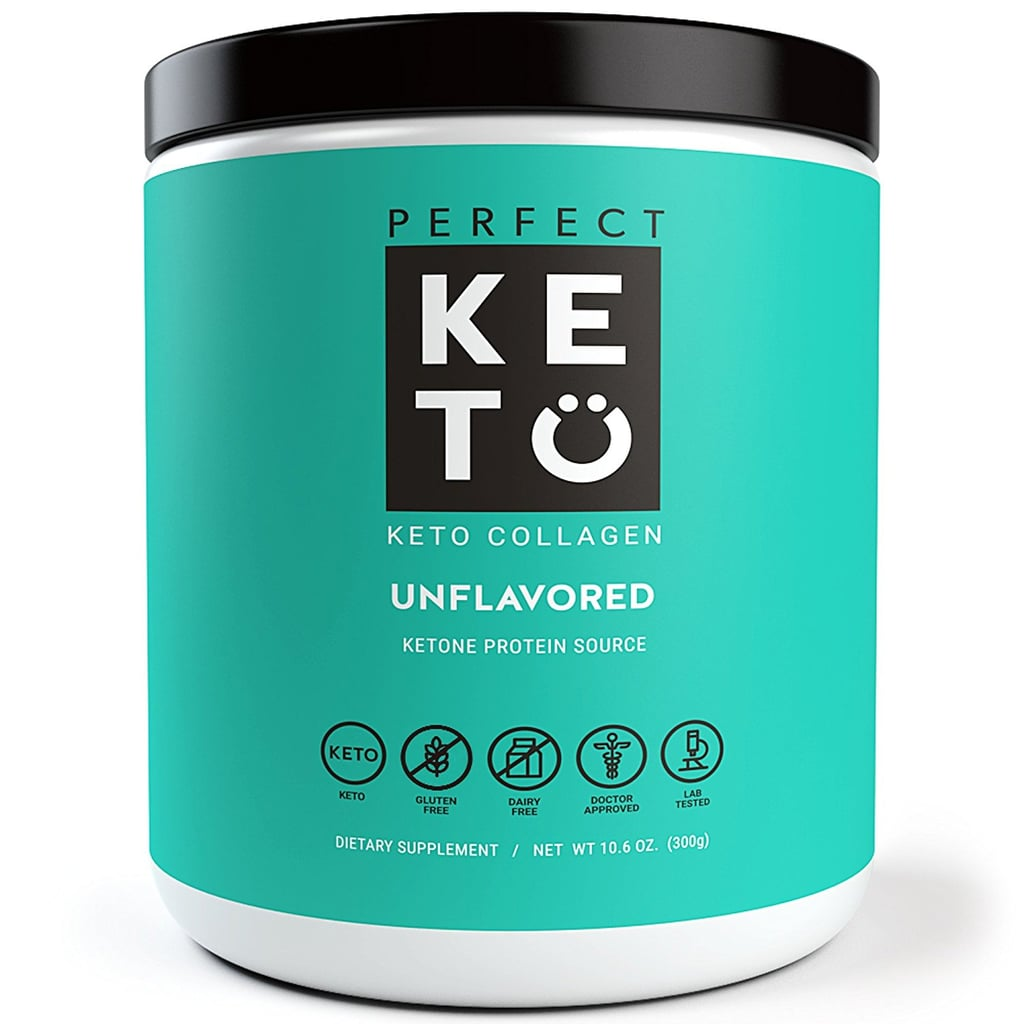 Perfect Keto Unflavored Protein Powder   Best Low-Carb
