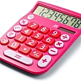 Office+Style 8 Digit Dual Powered Desktop Calculator