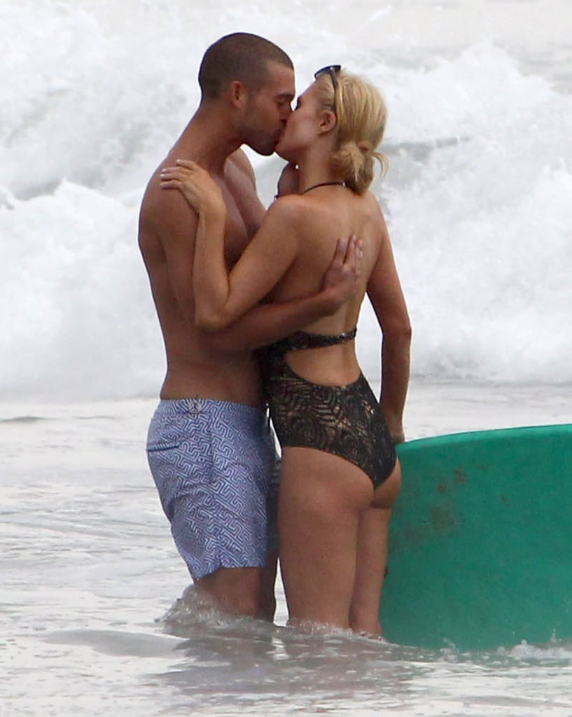 "Paris Hilton confirmed rumors that she had split with her boyfriend of nearly two years, River Viiperi, when she shared a kiss with a mystery man in Malibu, CA, on Sunday. The former reality star was throwing a party at her Malibu beach house when she walked into the waves with a buff man to splash around and exchange kisses. It isn't clear when Paris and River drifted apart, but River was sharing snaps of Paris on his Instagram account as recently as three weeks ago. However, he has recently been sharing cryptic messages on his account, including one that hints at a breakup. Last week, he shared an image that read: At some point you will realize that you have done too much for someone or something, that the only next possible step to do is to stop. Leave them alone. Walk away. It's not like you're giving up, and it's not like you shouldn't try. It's just that you have to draw the line of determination from desperation. What is truly yours would eventually be yours, and what is not, no matter how hard you try, will never be.  River captioned the photo, ""Everything happens for a reason, Don't you wanna know what the reason is?"" For her part, Paris didn't reveal who her new beau is on Instagram, but she did share plenty of snaps of her other party guests, which included Charlie Sheen and Dancing With the Stars dancer Cheryl Burke. It's been a busy week for Paris, who recently launched a new Carl's Jr. ad to follow up on her infamous 2005 commercial for the burger chain. She also made a surprising move last Sunday when she hit up a charity kickball game with Kendall and Kylie Jenner, the younger sisters of her former best friend Kim Kardashian."