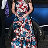 And Finally, When Kate Had Us Wide-Eyed Over Her Satin Floral Dress