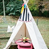 Backyard Tepee