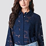 Rut & Circle Flower Embroidered Blouse