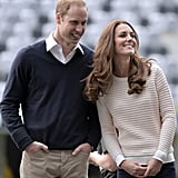 They kept things casual during a visit to New Zealand's Forsyth Barr Stadium in April.