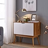 Console Table Storage Cabinet