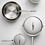 Stainless Steel Cookware Collection ($130 for 11 pieces, also sold separately)
