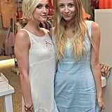 Ashlee Simpson and Harley Viera-Newton posed together at the event.