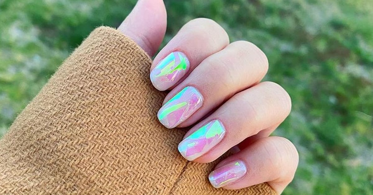 """Ice Cube"" Nail Art is the Dramatic Manicure Trend We'll Be Cooling Off With All Spring.jpg"