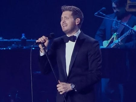 WATCH: Michael Bublé Will Be Coming to Theatres Near You