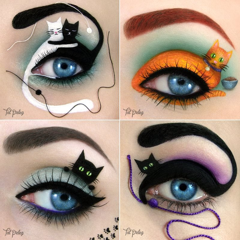 Eye Makeup Illustrations : POPSUGAR Beauty