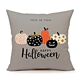 4TH Emotion Halloween Pumpkin Throw Pillow
