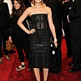 Leighton Meester Pulls a Sexy Louis Vuitton Look Together For the Met Gala