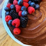 Healthy Vegan Sugar-Free Gluten-Free Chocolate Cake