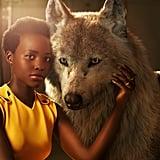 Lupita Nyong'o with Raksha
